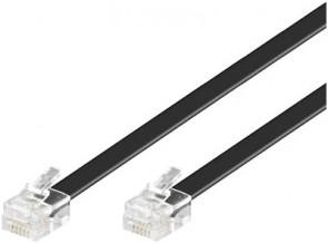 MicroConnect Modular Straight RJ12 6C/6P 5m