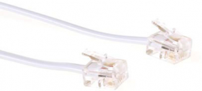MicroConnect ModularCable RJ11 6P/4C 1m