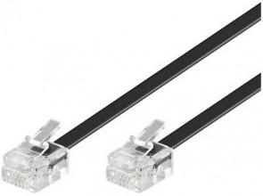 MicroConnect ModularCable RJ11 6P/4C 2m
