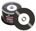MediaRange CD-R 52x Black Vinyl cake (50)
