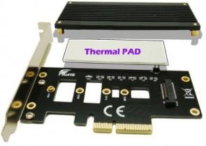 MicroStorage M.2/NVME (NGFF) SSD to PCIe
