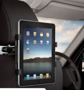 MicroSpareparts Mobile UniversalTablet HeadrestHolder