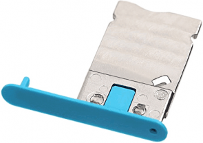 MicroSpareparts Mobile SIM Card Tray Blue