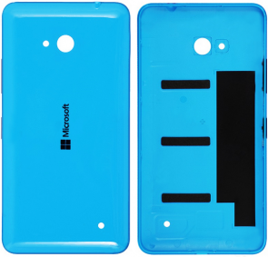 MicroSpareparts Mobile Back Cover Blue Color