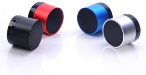 MicroSpareparts Mobile Bluetooth Drum Speaker Black