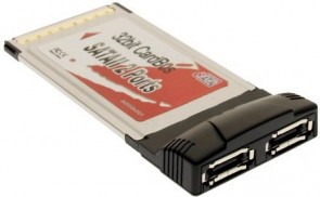 Lycom PC Card SATA II-150 2x eSATA