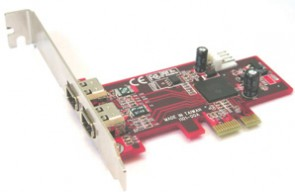Lycom PCI-Express 1394a 2P, LP