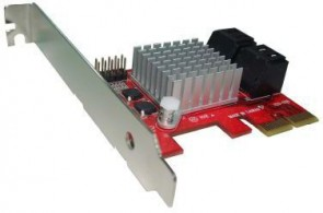 Lycom PCI-Express SATA3 Int. 4port