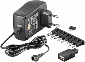 MicroConnect 3-12V Univ. Power Supply