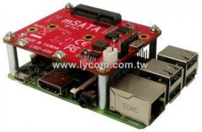 Lycom Raspberry Pi USB to mSATA