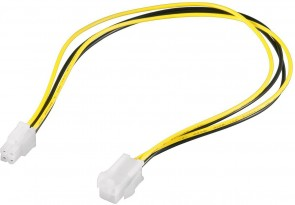 MicroConnect 4 pin P4 power extension cable