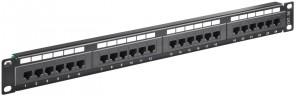 "MicroConnect CAT5e 24 port 19""  Patch Panel"