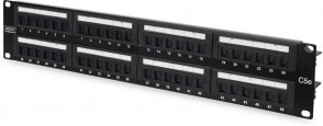 "MicroConnect CAT5e 48 port 19"" Patch Panel,"