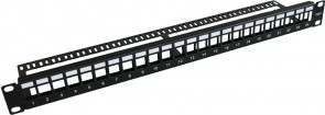 "MicroConnect 19"" Blank patch panel, 24port,"