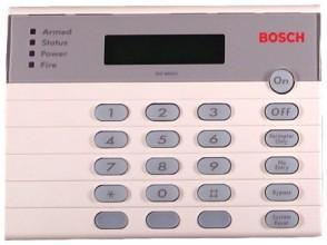 Bosch Stylish Alpha numeric codepad