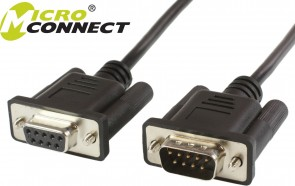 MicroConnect D-SUB/RS-232-D - SUB/RS-232 3m