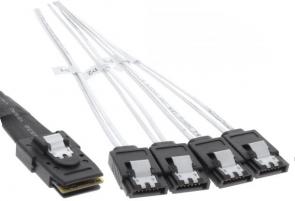MicroConnect miniSAS SFF8087 to 4X SATA