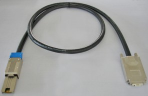 MicroConnect miniSAS 26p to SFF8470 1m