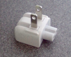Apple Mains plug/duckhead, -