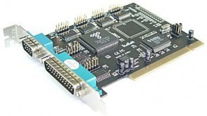 ST Labs PCI SERIAL 4S/PARALLEL 1P CARD
