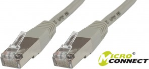 MicroConnect CROSSED STP CAT5E 1M GREY PVC