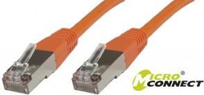 MicroConnect F/UTP CAT5e 1.5m Orange PVC