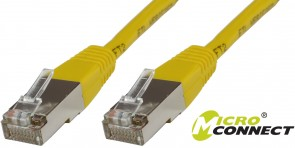 MicroConnect F/UTP CAT6 1.5m Yellow LSZH