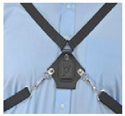 Zepcam Adjustable 4 point-harness for