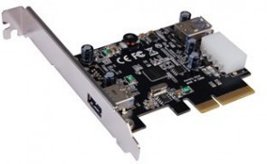 ST Labs PCIe x 4, USB 3.1-C  Card