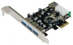 ST Labs PCI Express USB3.0(3+1) Ports