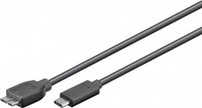 MicroConnect USB3.1 C-Micro B 3.0, 0.6m M-M