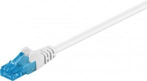 MicroConnect U/UTP CAT6A 0,25M White LSZH