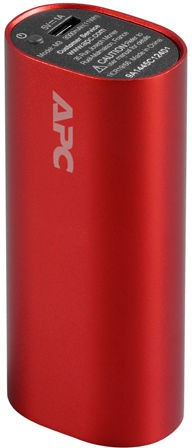 APC Mobile Pack 3000mAh Red