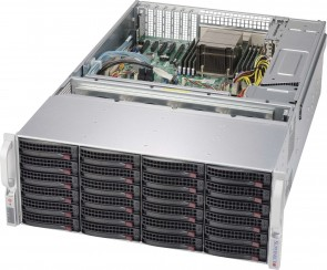Supermicro 4U chassis support for mother-