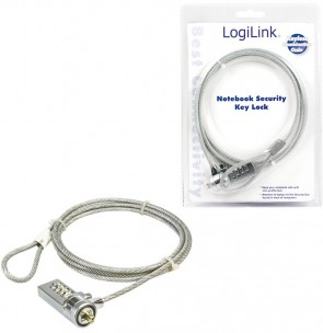 LogiLink Notebook Security Lock 1.5m