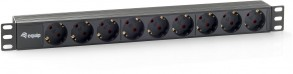 Equip 9-Outlet German Power D Unit