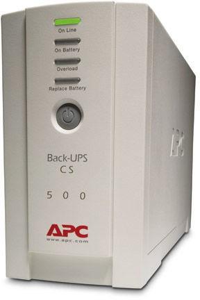 APC Back-UPS CS 500 US Modell