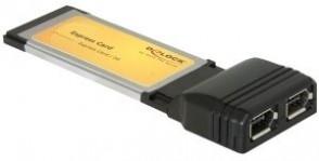 Delock 2 x Firewire 1394A, Express ca