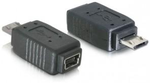 Delock USB micro B/mini USB 5pin BU