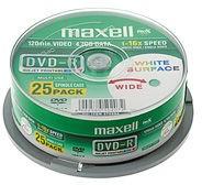 Maxell 25 x DVD-R - 4.7 GB 16x