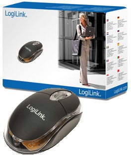 LogiLink Optic USB Mini mit