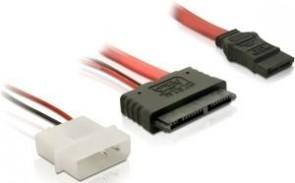 Delock Micro SATA F + 2Pin Power SATA