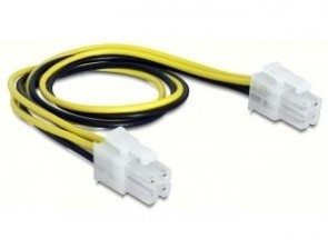 Delock Cable Power supply 4pin M/M