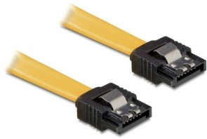 Delock SATA Cable 0.1m