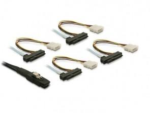 Delock mini SAS 26p->4xSAS 29 pin