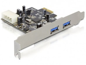 Delock 2 x USB 3.0, PCI express