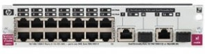 Hewlett Packard Enterprise 16-Port Gig-T A5800 Module