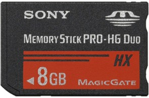 Sony MS PRO-HG DUO HIGH SPEED 8GB