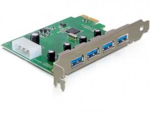 Delock PCI Express Card > 4 x USB 3.0