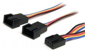StarTech.com 12IN 4 PIN FAN POWER Y CABLE